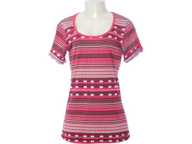 Blusa Feminina Hering 4ceg 1a00s Vermelho