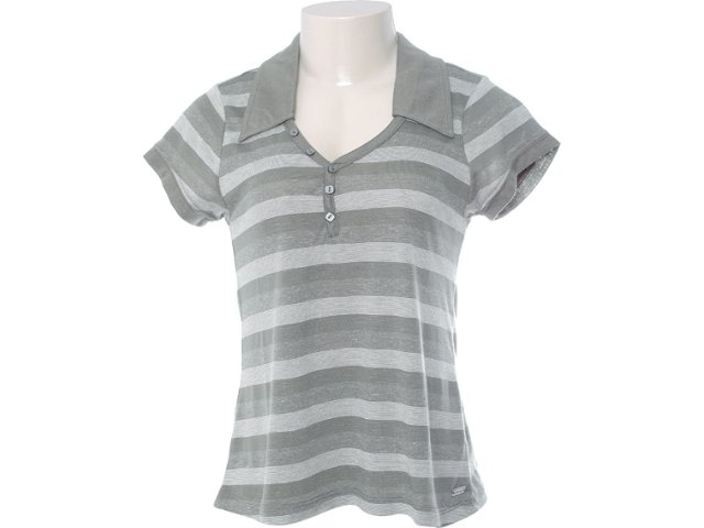 Camiseta Feminina Hering Kk1c 1asi Musgo