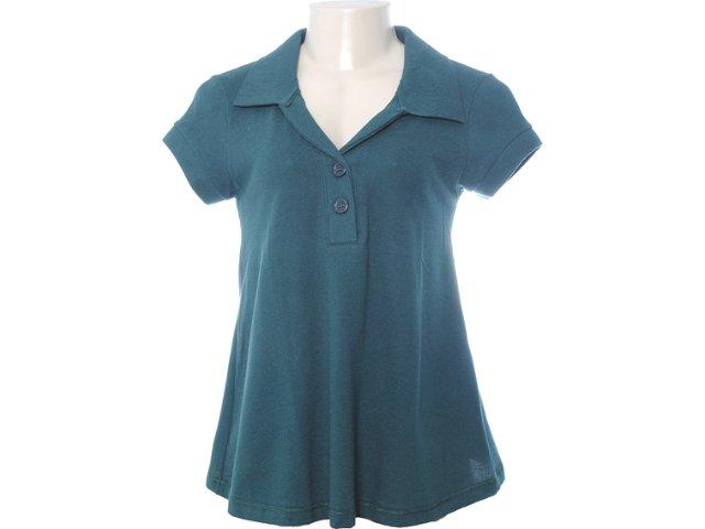 Blusa Feminina Hering 03hb/w8r07s Verde Musgo