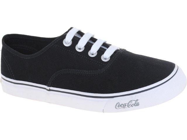 Tênis Masculino Coca-cola Shoes Cc0162 Preto