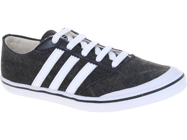 Tênis Masculino Adidas U45443 Slimsoll w Preto/branco
