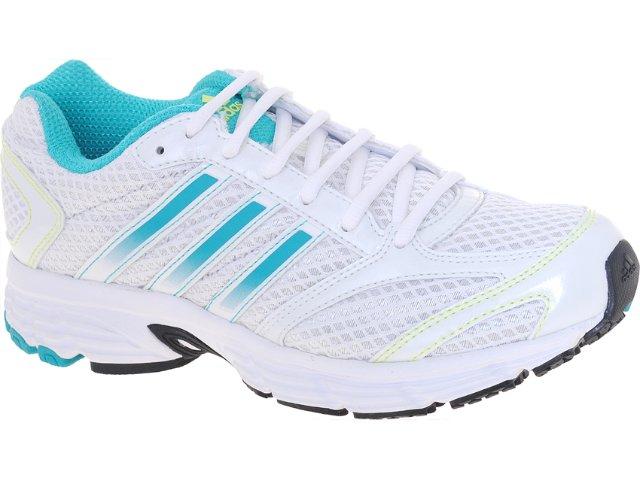 Tênis Feminino Adidas V22750 Vanquish 5w Branco/verde Agua