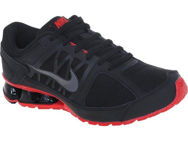 Tênis Masculino Nike 472773-005 Reax Run Preto/vermelho