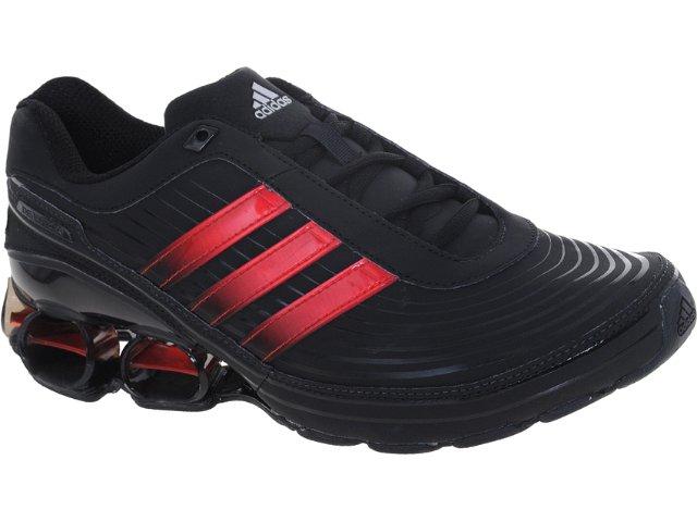 Tênis Masculino Adidas V21505 Devotion pb Preto/vermelho