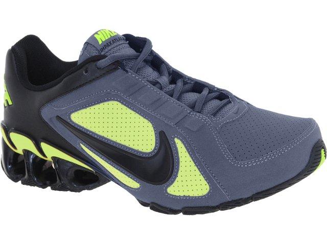Tênis Masculino Nike 487979-007 Impax Atlas Cinza/verde Neon 0000