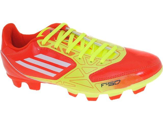 Chuteira Masculina Adidas G29701 Trx fg Laranj/amarelo