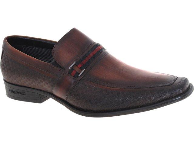 Sapato Masculino Ferracini 5413 Castanho