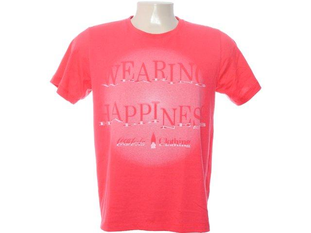 Camiseta Masculina Coca-cola Clothing 353202754 Vermelho