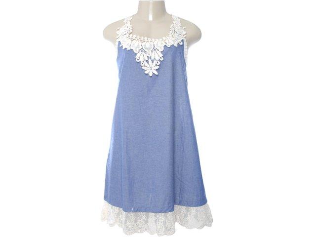 Vestido Feminino Moikana 4003 Marinho