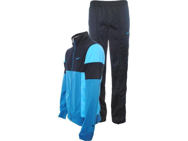 Abrigo Masculino Nike 426031-013 Preto/azul Petróleo