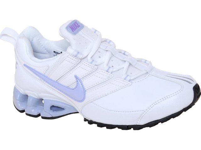 Tênis Feminino Nike 442472-104 Impax Branco/lilas