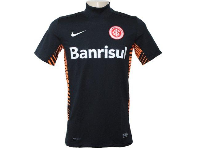 Camiseta Masculina Inter 527799-010 Preto/laranja