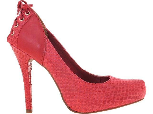 Sapato Feminino Via Marte 12-2802 Vermelho