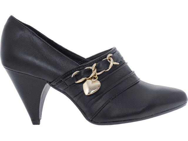Sapato Feminino Tanara 3033 Preto