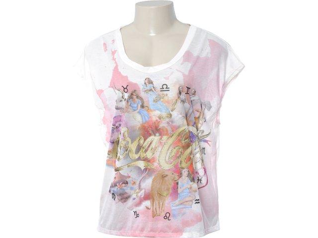 Camiseta Feminina Coca-cola Clothing 343200490 Nude