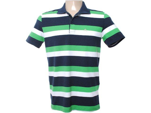 Camisa Masculina Mineral 99464 Verde/marinho