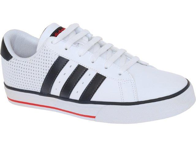 Tênis Masculino Adidas U45426 se Daily Vulc Branco/preto