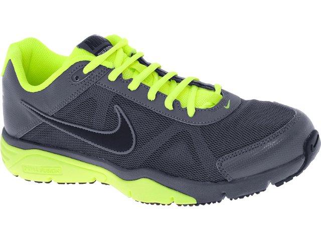 Tênis Masculino Nike 512109-003 Dual Fusion Chumbo/limão