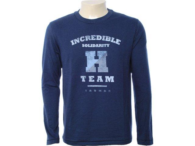 Camiseta Masculina Hering 4cec A6j10s Marinho