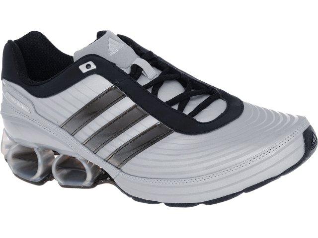 Tênis Masculino Adidas V23392 Devotion pb Prata/preto