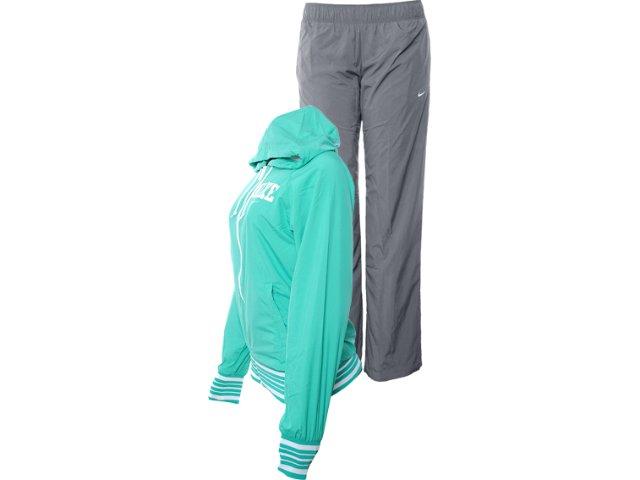 Abrigo Feminino Nike 450683-318 Verde/cinza