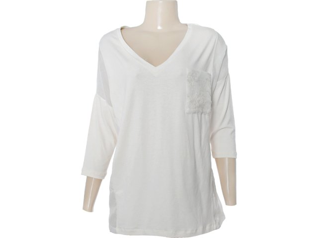 Blusa Feminina Checklist 19.10.4313 Off White
