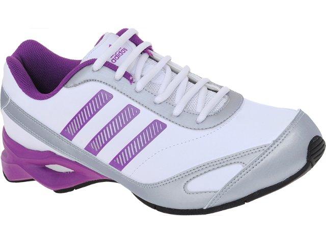 Tênis Feminino Adidas G29214 Training Bco/pta/lilas