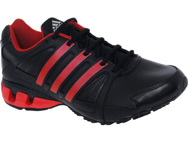 Tênis Masculino Adidas G29608 100 Flow Preto/vermelho