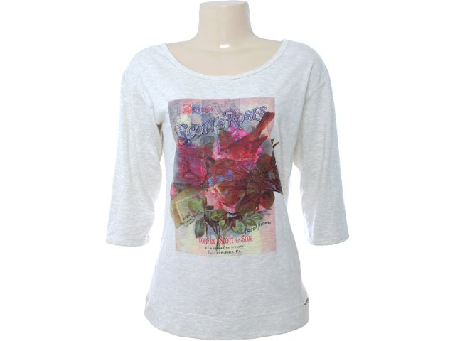 Blusa Feminina Hering 4chf Md210s Bege