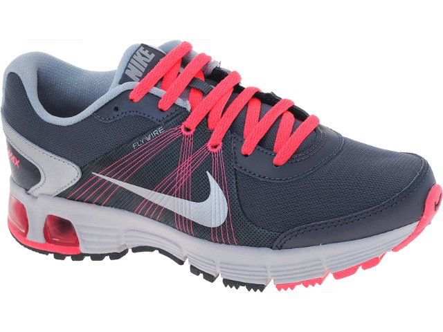 Tênis Feminino Nike 488167-005 Air Max  Chumbo/pink