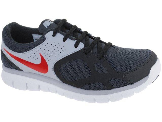 Tênis Masculino Nike 512019-002 Flex 2012 Chumbo/cinza