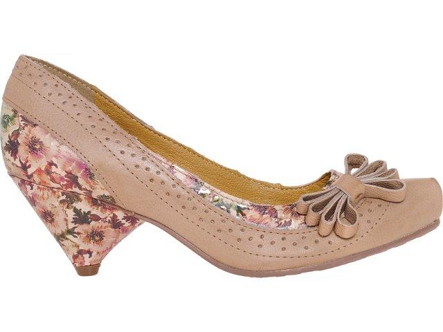 Sapato Feminino Tanara 3181 Natural