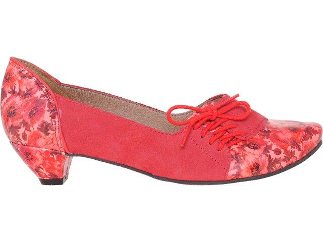 Sapato Feminino Tanara 2966 Carmim