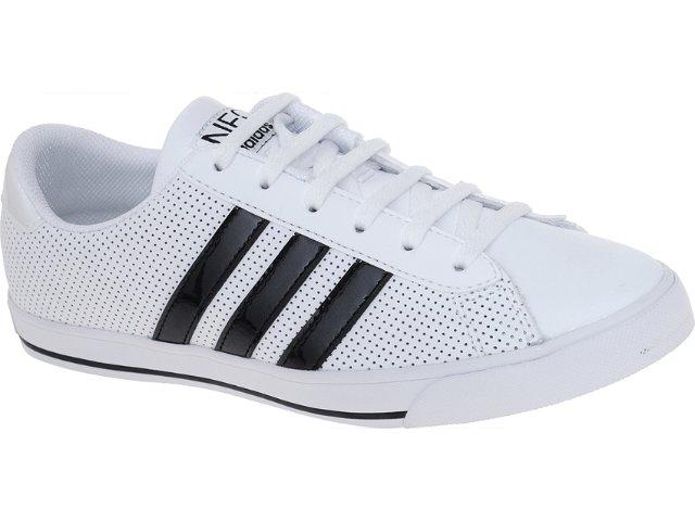 Tênis Feminino Adidas G52738 se Daily Branco/preto