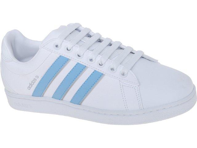 Tênis Feminino Adidas G29409 Derby Branco/celeste