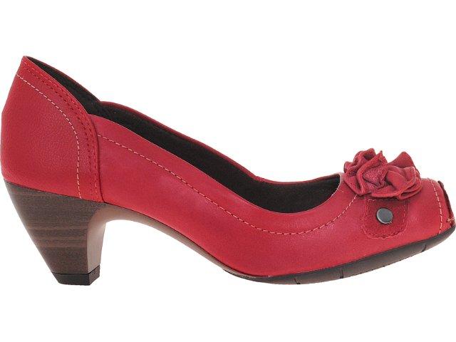 Sapato Feminino Dakota 4162 Vermelho