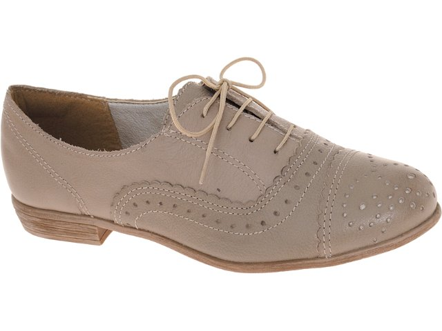 Sapato Feminino Dakota 4033 Trigo