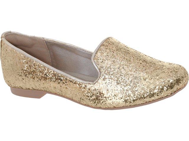 Sapato Feminino Dakota 3862 Ouro