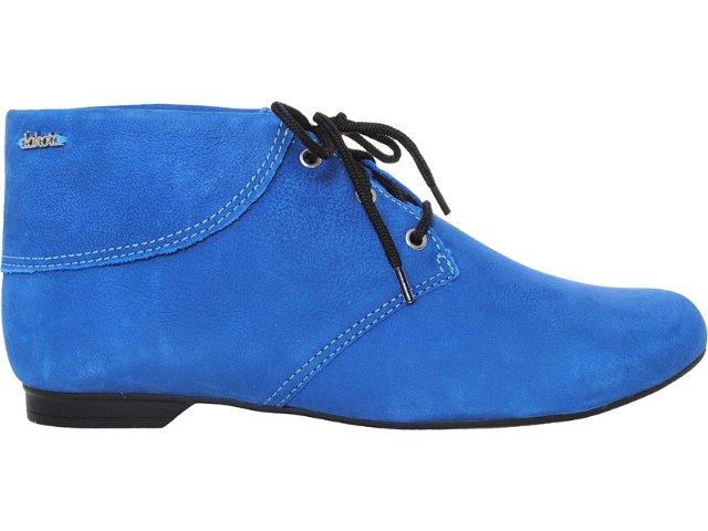 Bota Feminina Dakota 3771 Azul