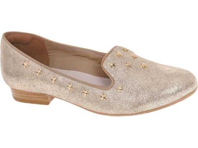 Sapato Feminino Tanara 3014 Champanhe