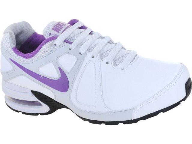 Tênis Feminino Nike 512594-100 Air Max Branco/lilas
