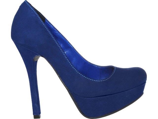 Sapato Feminino Via Marte 12-5702 Marinho