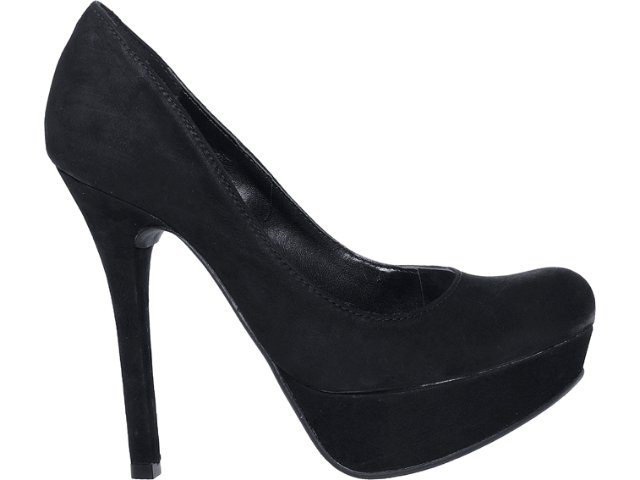 Sapato Feminino Via Marte 12-5702 Preto