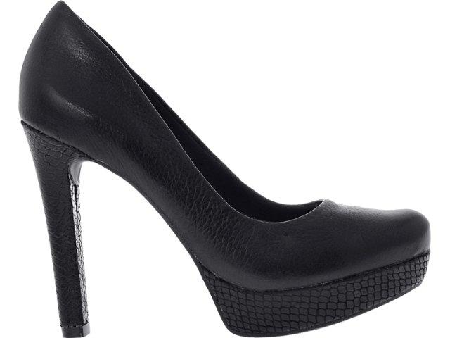 Sapato Feminino Ramarim 12-23101 Preto