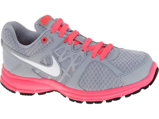 Tênis Feminino Nike 512084-002 Air Relenteles Cinza/pink