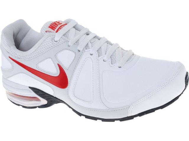 Tênis Masculino Nike 512593-100 Air Max Branco/vermelho