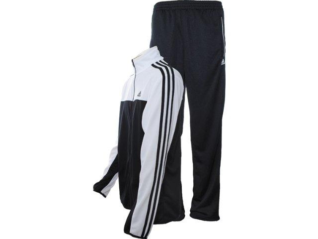 Abrigo Masculino Adidas X35028 Preto/branco