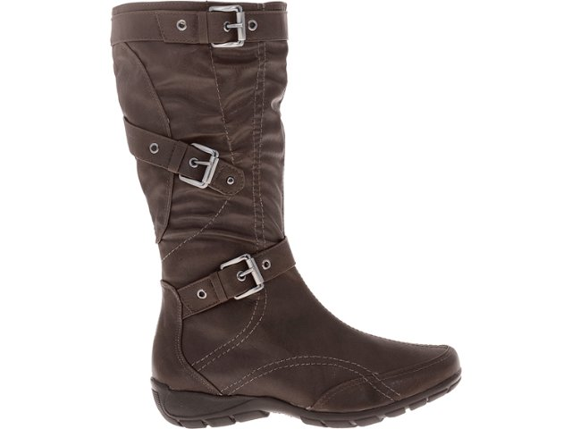Bota Feminina Via Marte 12-107 Chocolate