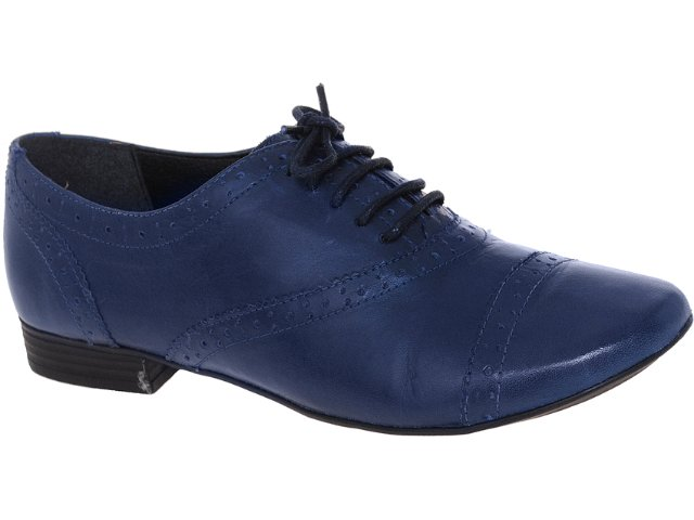 Sapato Feminino Bottero 163002 Azul