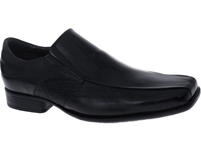 Sapato Masculino New Confort 10250 Preto